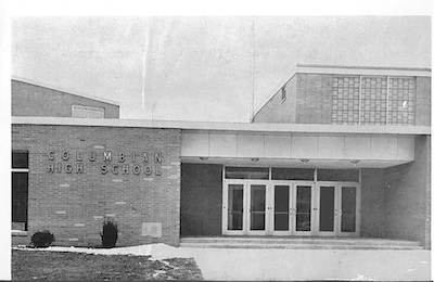 Columbian High School Entrance 1962